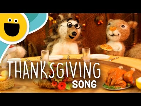 The Thanksgiving Song (Sesame Studios)