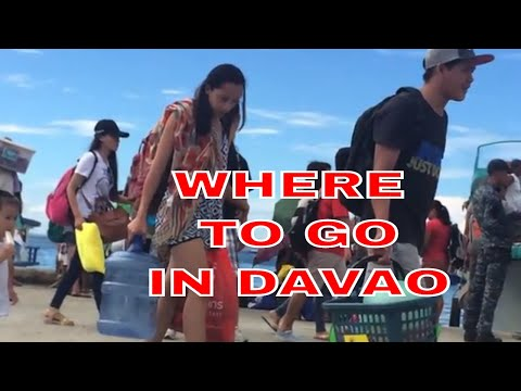 Locals Most Visited White Sand Beach In Davao City Philippines