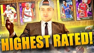 MyLEAGUE DRAFT CHAMPS CHALLENGE - Highest Overall Rated Players Only! NBA 2K16 MyLeague Rebuild!