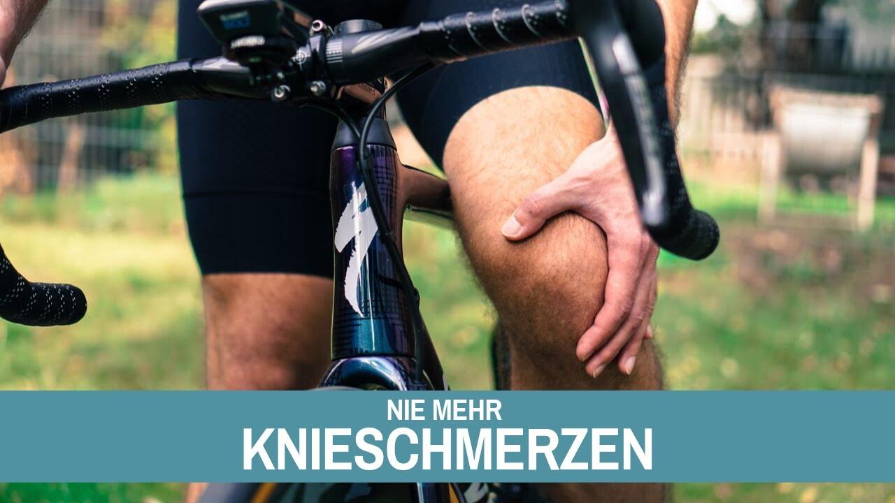 Knieschmerzen beim Radfahren, 3 Lösungswege. - YouTube