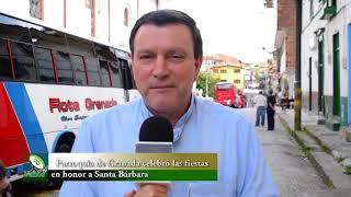 Parroquia de Granada celebró las fiestas en honor a Santa Bárbara