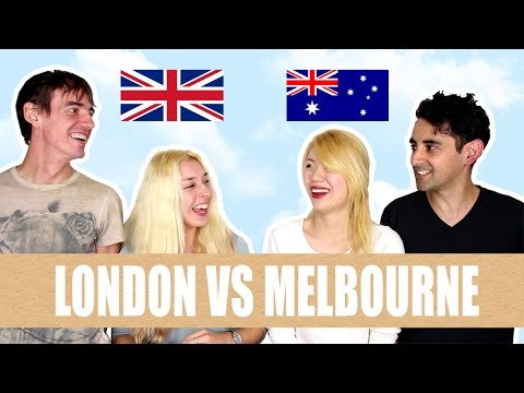 Living in MELBOURNE or LONDON feat. Live Life In A Box