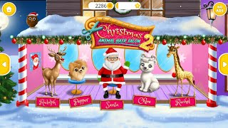 क्रिसमस पशु हेयर सैलून 2 screenshot 1