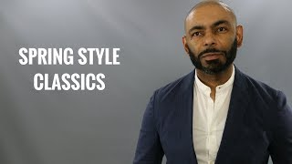 10 Men's Spring Clothes That Never Go Out Of Style/Most Classic Men's Spring Clothing