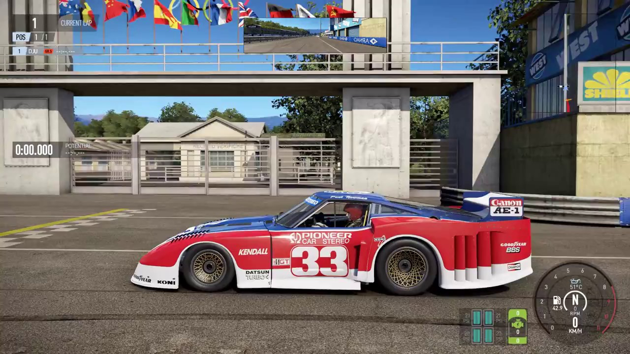 Image result for Paul Newman's 1979 Datsun 280ZX race car up for auction