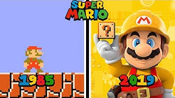 Super Mario Games Evolution (1985 - 2019)