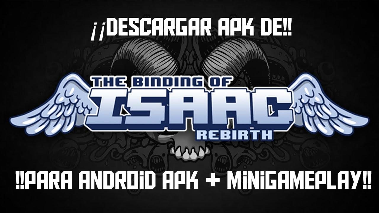 !!descargar the binding isaac birth¡¡ para android apk + minigameplay