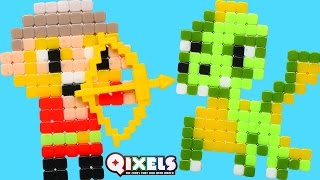 Qixels Medieval Kit - Pixel Cube Toy Character Creator New DCTC Toy Review 2016