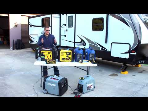 All About Paralleling Generators, Reviewing Multiple Parallel Kits & Gen Sets, 50 amp & 30 amp Cords