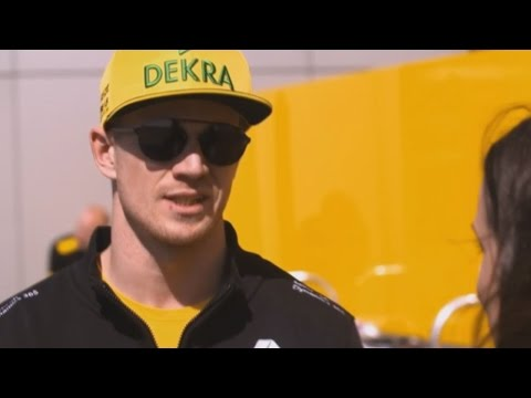 Channel 4 - 2017 Russian Grand Prix - Nico Hulkenberg Interview