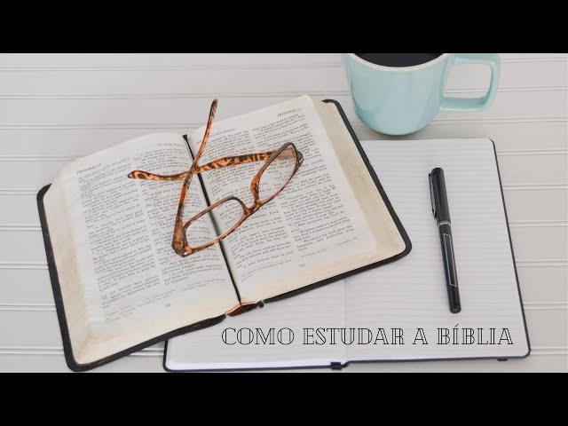Como Estudo a Bíblia- Pr. Ricardo
