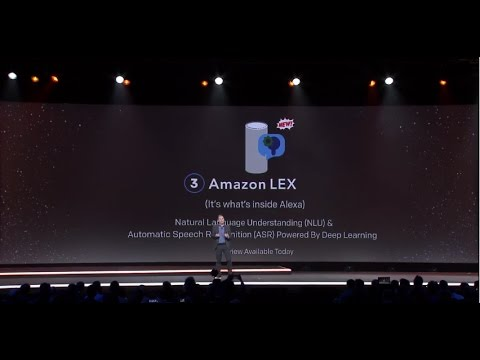AWS re:Invent 2016: Introducing Amazon Lex, now in Preview