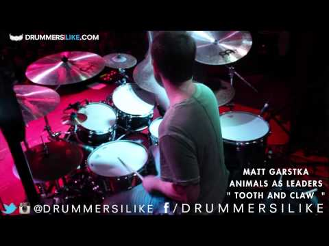 DRUMMERS I LIKE - MATT GARSTKA - ANIMALS AS LEADERS - TOOTH AND CLAW