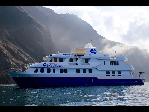 GALAPAGOS ISLANDS LUXURY YACHT!!! Day 1 | Dragon Hill