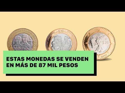 Estas monedas de $20 se venden en más de 87 mil pesos