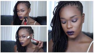 Dark Skin Makeup tutorial | Destiny Godley