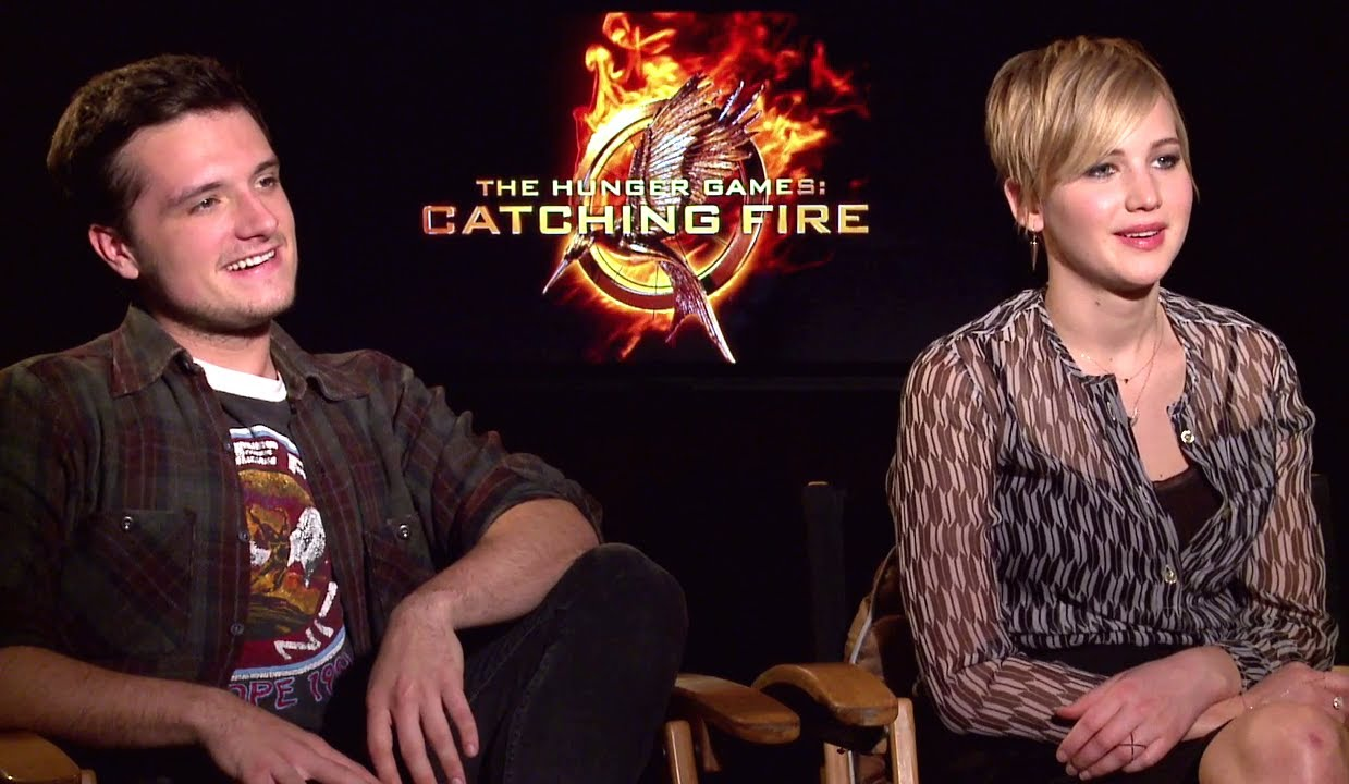The best: the hunger games interview with josh and jennifer dating
