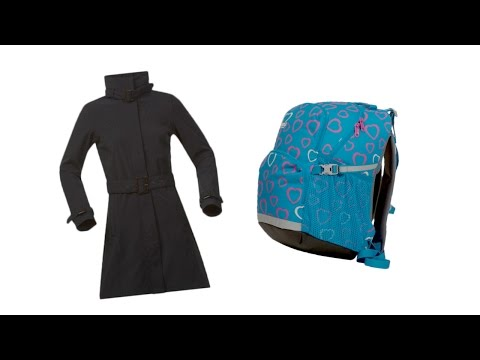 Bergans: 'Oslo Lady' Trenchcoat en School pack 'ToGo'