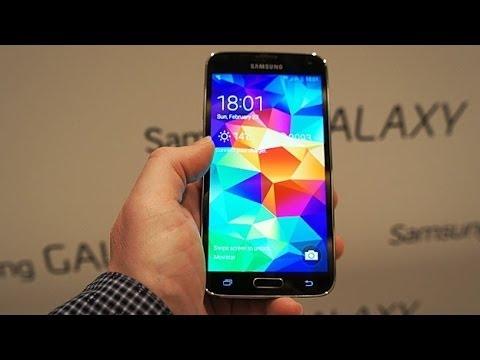 Китайский Samsung Galaxy S5 Лучшая И Точная Копия Первый Взгляд .
