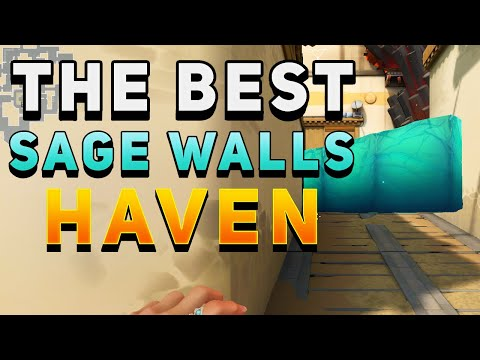 VALORANT - The BEST Sage Walls for Haven (Wall Boosts & More)