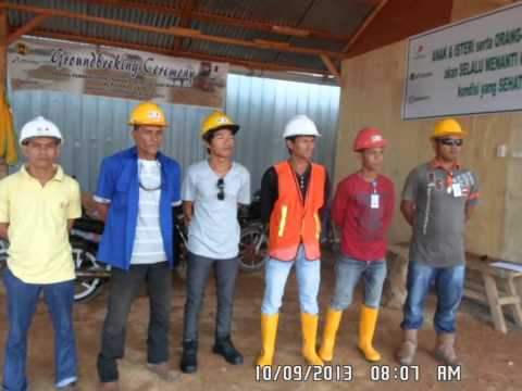 toolbox meeting BDM migas - pertamina hulu kab. siak Riau september 2013 Travel Video