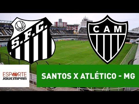 Santos x Atlético - MG - 04/11/17