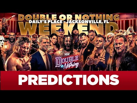 AEW Double or Nothing 2021: Predictions, preview, how to watch ...
