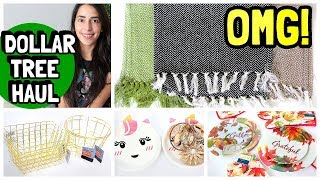 MUST WATCH DOLLAR TREE HAUL | TASSEL AREA RUGS & NEW FINDS 2019