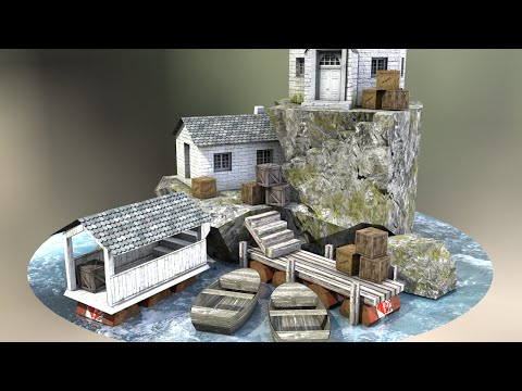 🎨 3D Model to Real World Papercraft 🎨