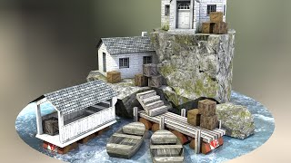 3D Model to Real World Papercraft
