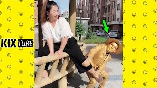 Watch keep laugh EP372 ● The funny moments 2018