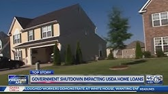 Government shutdown impacting USDA home loans