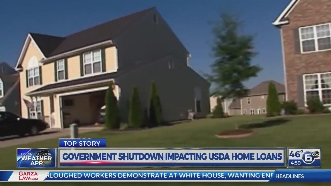 Usda Home Loans >> Government Shutdown Impacting Usda Home Loans