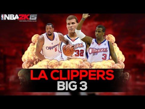 NBA 2K15 BLACKTOP BATTLE #1 | Big 3 Cavaliers vs Clippers 2/2 | MSC PLAY