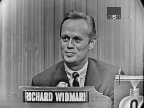 What's My Line? - Richard Widmark; Victor Borge [panel] (Jan 31, 1954) [UPGRADE!]