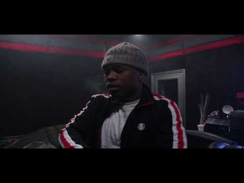 Roguish Tay in studio recording Finesse 4 Ever