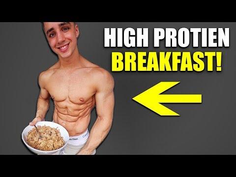 Easy High Protein Breakfast (52 GRAMS!!)