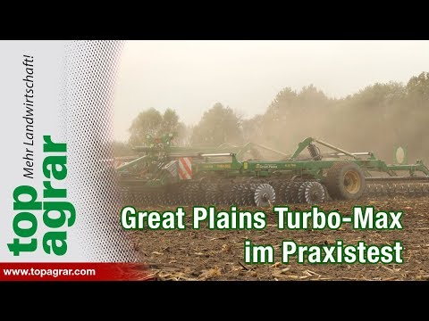 Great Plains Turbo-Max im top agrar-Praxistest
