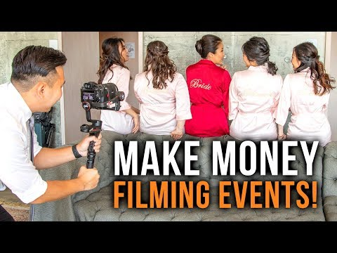 MAKE MONEY FILMING EVENTS & WEDDINGS   A Guide For CLUELESS VIDEO BEGINNERS!