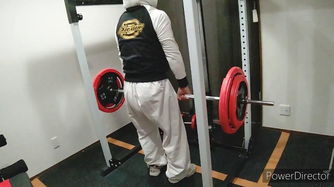 【筋トレ】脊柱起立筋、大臀筋を鍛えるデッドリフトを、ホームジムマスキュラーセットでやってみた‼️