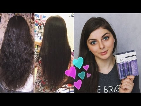 Кератиновое выпрямление волос в домашних условиях 99