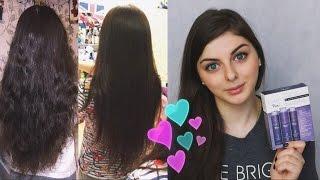 Кератиновое выпрямление волос в домашних условиях! Мой опыт!(, 2015-02-16T21:00:59.000Z)