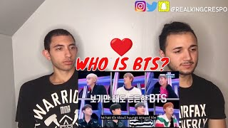 FIRST REACTION TO Who is BTS?: The Seven Members of Bangtan (INTRODUCTION)