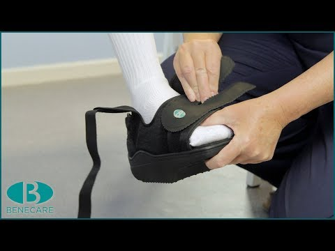 5e3a8ff4e35 OrthoWedge Forefoot Off-loading Shoe - How to walk properly in a ...