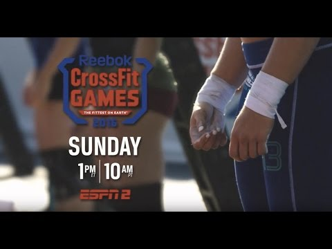 2016 CrossFit Games on ESPN2 This Sunday