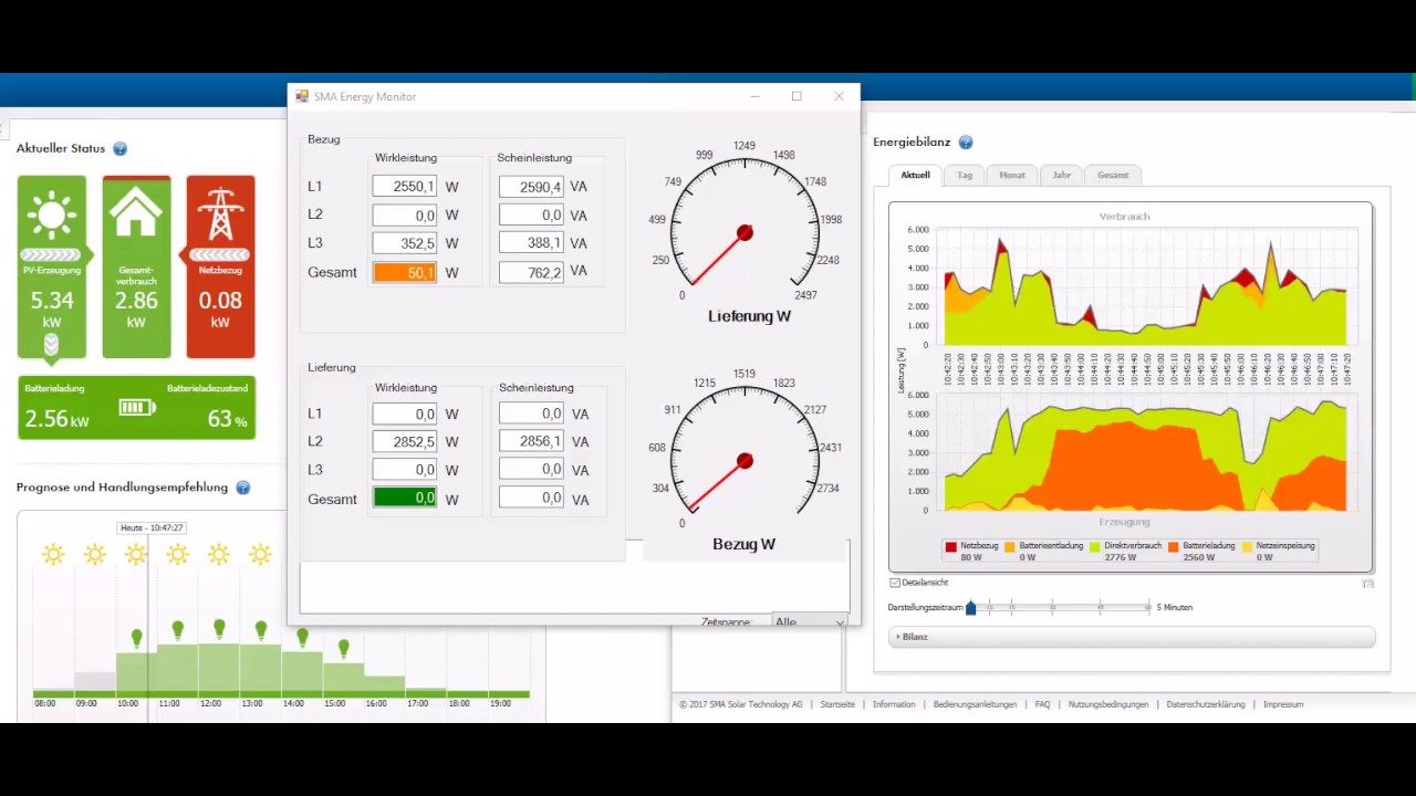 Sma energy meter unter stress youtube for Wohnlandschaft unter 3 meter