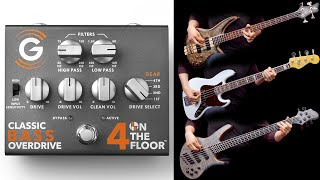 """Genzler Amplification - 4 ON THE FLOOR """"Classic Bass Overdrive"""""""