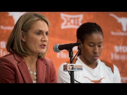 Texas vs Kansas Postgame Press Conference January 13, 2018
