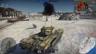 Играем War Thunder Gameplay Танки Churchill Mk.III 60FPS