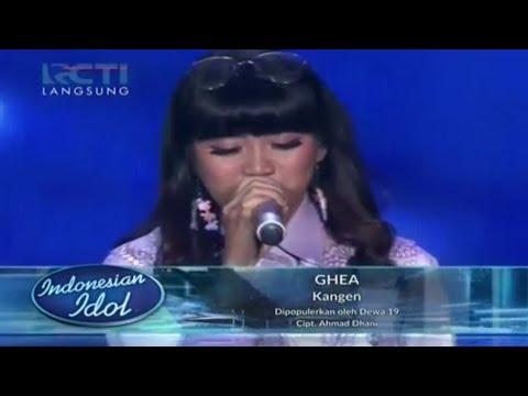 GHEA INDRAWARI - Kangen  Dewa 19  - SPEKTA 1 - Indonesian Idol 2018